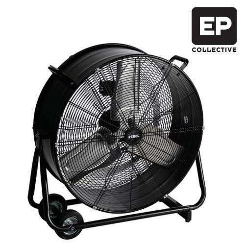 ventilator zwart