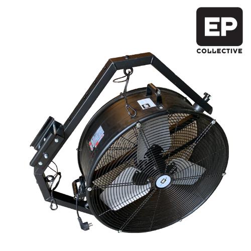 Ventilator met ophangbeugel